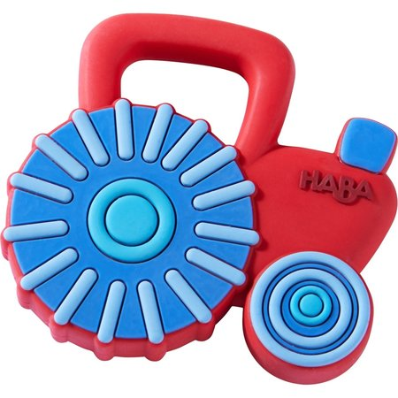 Haba Silicone Teether- Tractor