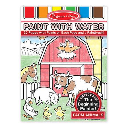 Melissa & Doug Paint with Water- Farm Animals