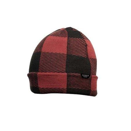 Dozer Bale Beanie Hat- Red