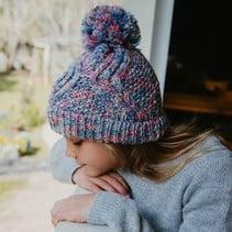 Marlowe Beanie Hat- Coral