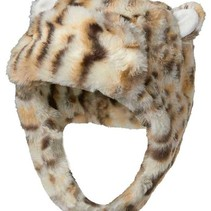 Leopard Trapper Pea Hat