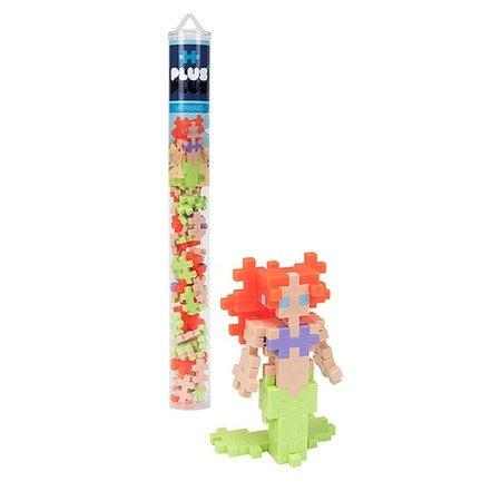 Plus Plus 70pc Tube- Mermaid