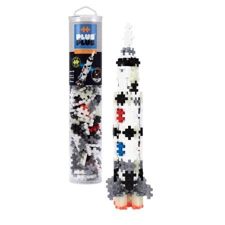 Plus Plus 240pc Tube- Saturn V Rocket