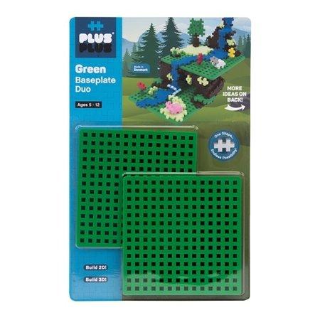 Plus Plus Baseplate Duo- Green
