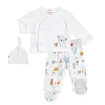 Organic Cotton 3pc Kimono Set- My Year of Firsts