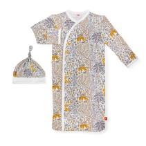 Modal Magnetic Gown + Hat Set- Sumatra