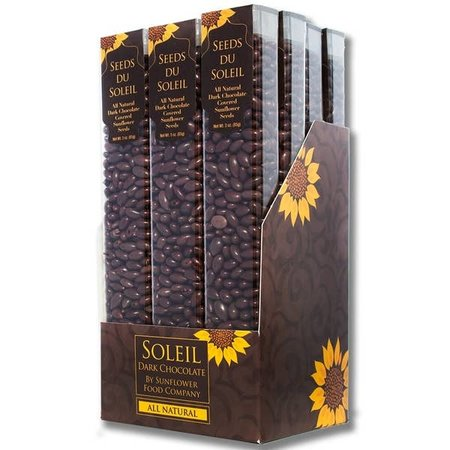 Sunflower Food Company Dark Chocolate Sunny Seeds 3oz Tube