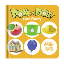 Small Poke-A-Dot First Words Book