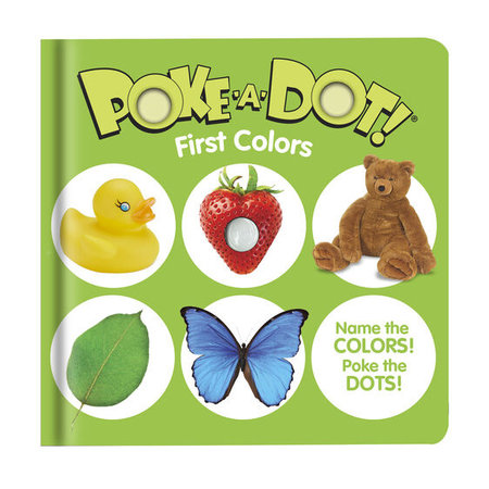 Melissa & Doug Small Poke-A-Dot First Colors Book