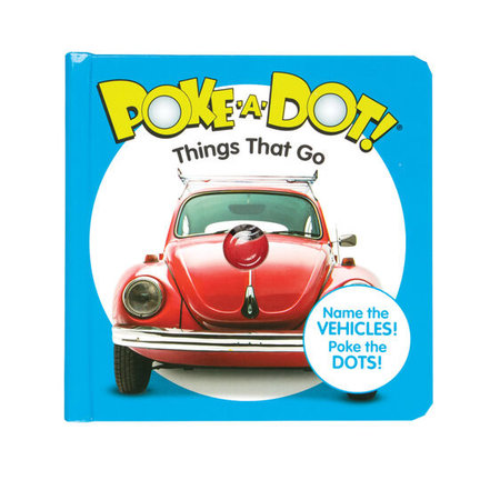 Melissa & Doug Small Poke-A-Dot Things That Go Book