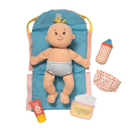 The Manhattan Toy Co Wee Baby Stella Diaper Changing Set
