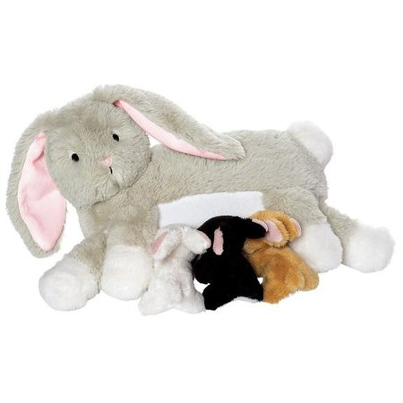 The Manhattan Toy Co Nursing Nola Rabbit
