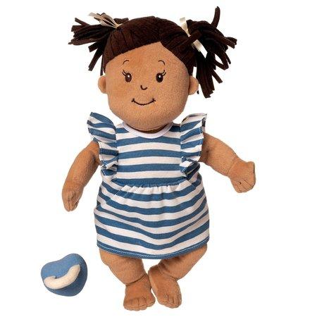 The Manhattan Toy Co Baby Stella (Beige Doll with Brown Hair)