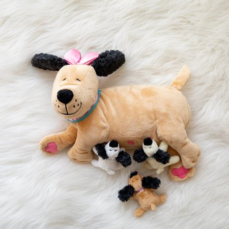 The Manhattan Toy Co Nursing Nana Dog