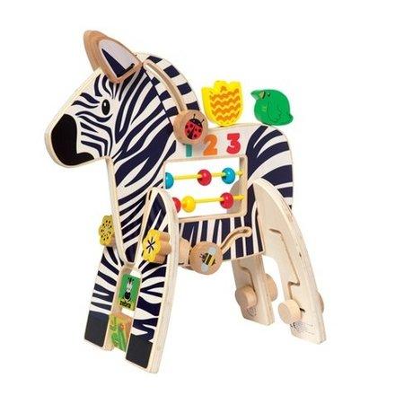 The Manhattan Toy Co Safari Zebra Activity Center
