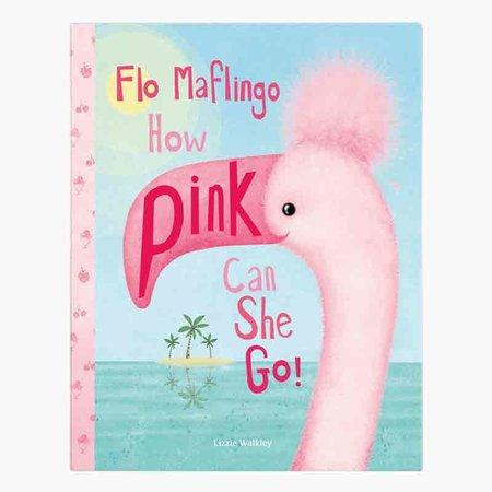 Jellycat Inc Flo Maflingo How Pink Can She Go Book