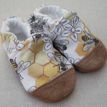 Organic Cotton Slippers Honeycomb