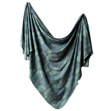 Copper Pearl Swaddle Blanket- Hunter
