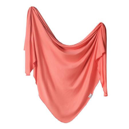 Copper Pearl Swaddle Blanket- Stella
