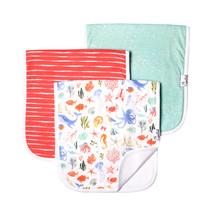 Burp Cloth Set (3-pack) Nautical