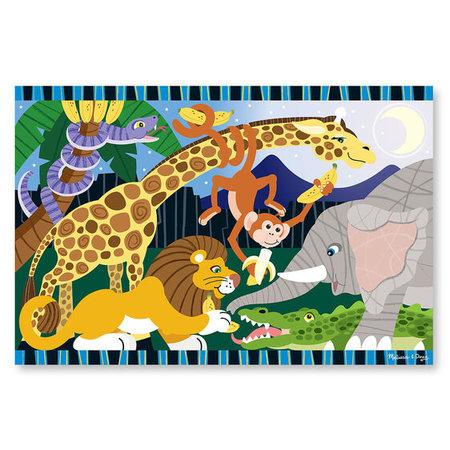 Melissa & Doug Safari Social Floor Puzzle (24pc)