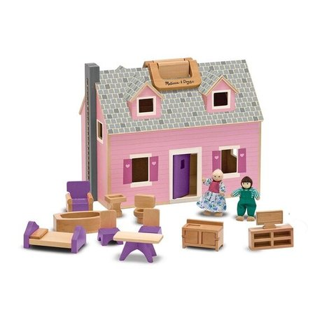Melissa & Doug Fold and Go Dollhouse
