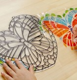 Melissa & Doug Stained Glass-Butterfly