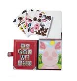 Melissa & Doug Make-a-Face Reusable Sticker Pad- Farm