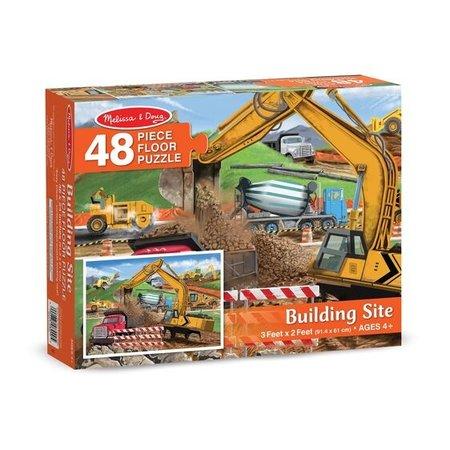 Building site 48pc floor puzzle