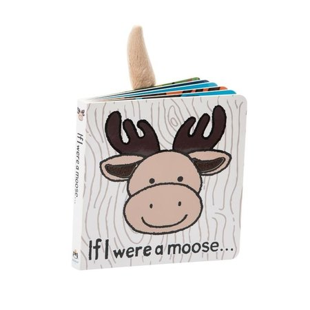 Jellycat Inc If I Were a Moose Book