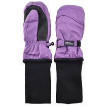 Snowstopper Extended Cuff Mittens: Purple