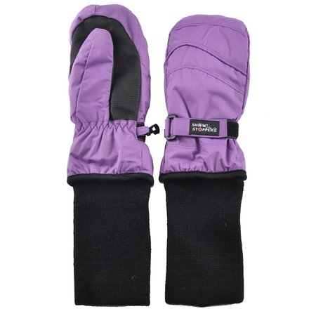 Snowstoppers Snowstopper Extended Cuff Mittens: Purple