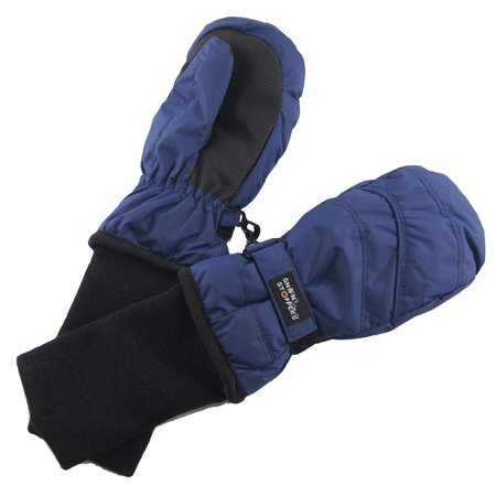 Snowstoppers Snowstopper Extended Cuff Mittens: Navy Blue