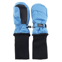 Snowstopper Extended Cuff Mittens: Sky Blue