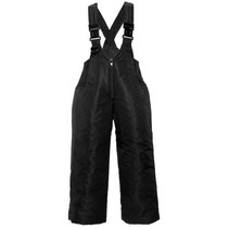 Snow Pants: Black Bibs