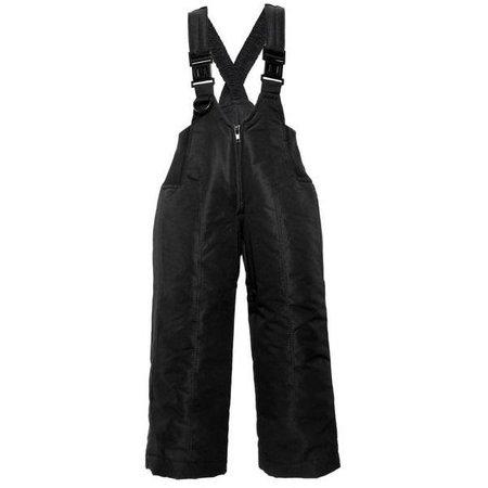 Snowstoppers Snow Pants: Black Bibs