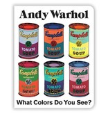 Andy Warhol What Colors Do You See? Book