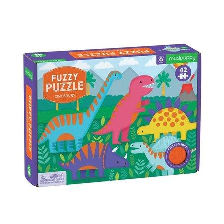 Mudpuppy Dinosaurs Fuzzy Puzzle