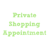 Black Friday Private Shopping Appointment