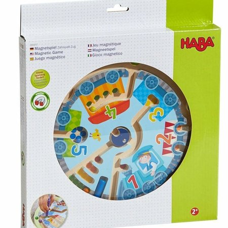 Haba Neato Number Train Magnetic Game
