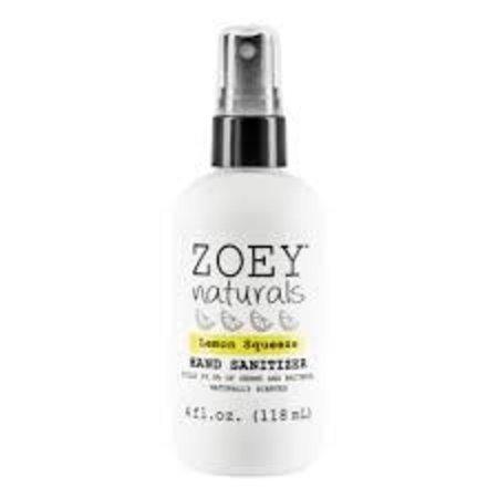 Zoey Naturals Zoey Naturals Lemon Squeeze Hand Sanitizer 4oz