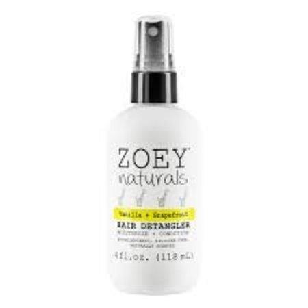 Zoey Naturals Vanilla Grapefruit Hair Detangler 4oz