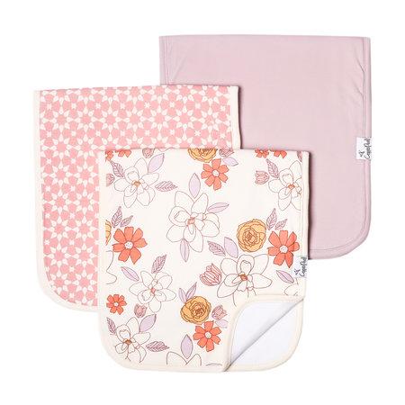 Copper Pearl Burp Cloth Set (3-pack) Ferra