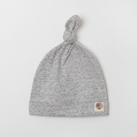Me O My Earth Heather Grey Hat 0-6 Month