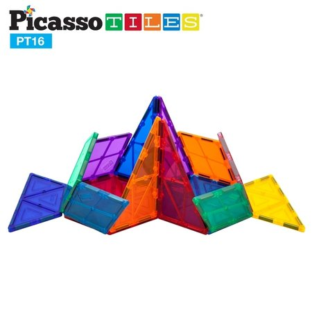 Picasso Tiles 16 Piece Geometry Set