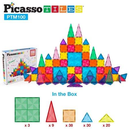 Picasso Tiles Mini Diamond 100 Piece Set