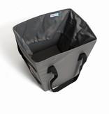Viviamo Limo Tote Bag: Carbon Grey