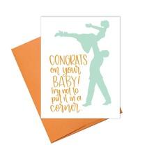 Baby Corner Greeting Card