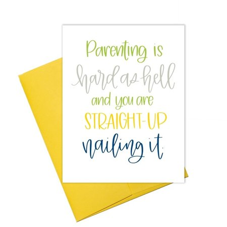 Colette Paperie Being a Mom & Nailin' It Greeting Card
