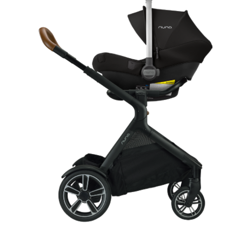 Nuna Nuna DEMI Grow Stroller + Adapters + Rain Cover + Magnetic Buckle Caviar